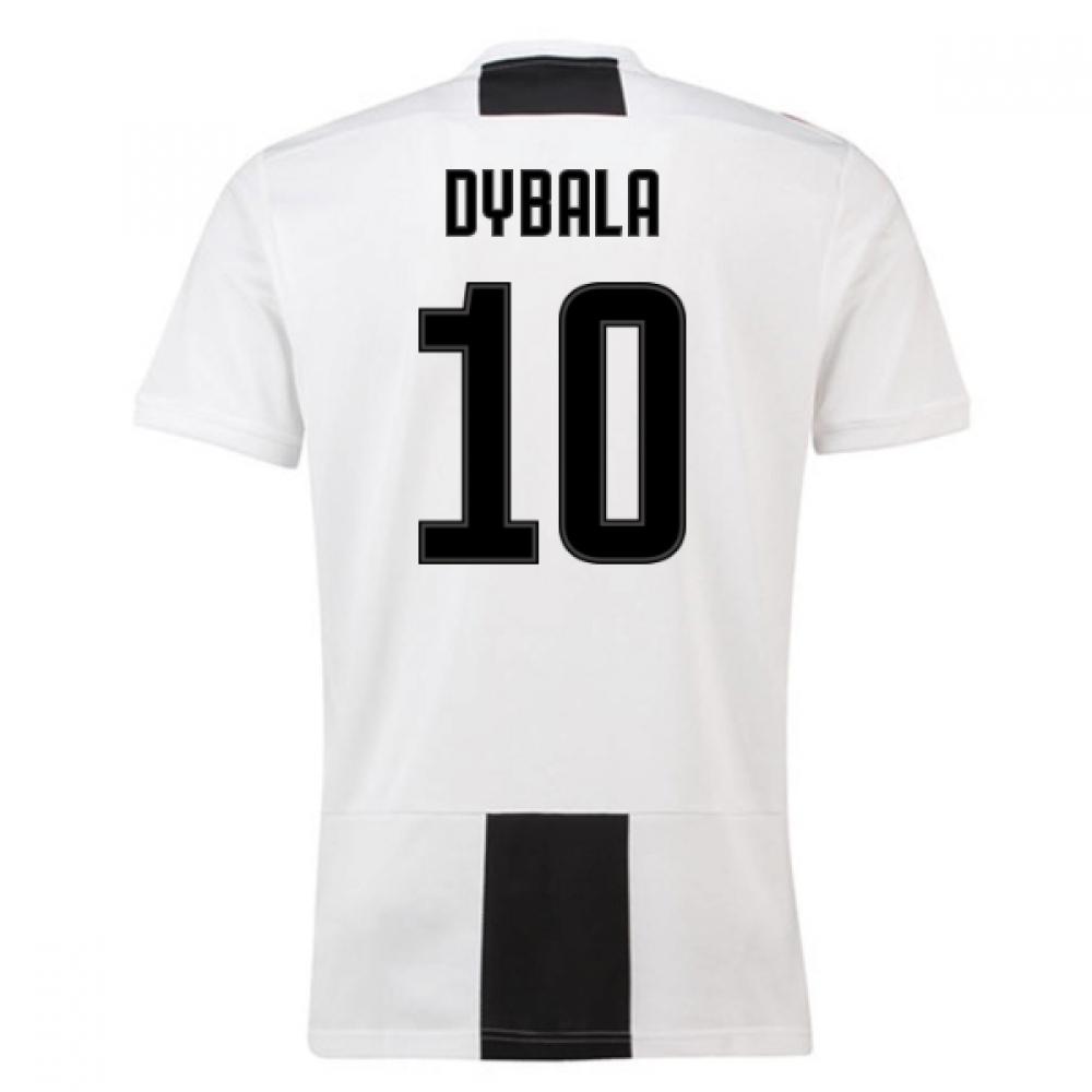2018-19 Juventus Home Shirt (Dybala 10) – Kids