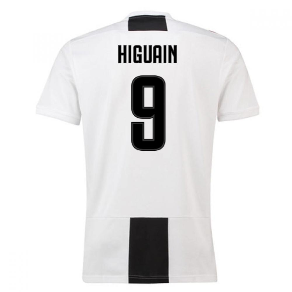 2018-19 Juventus Home Shirt (Higuain 9) – Kids