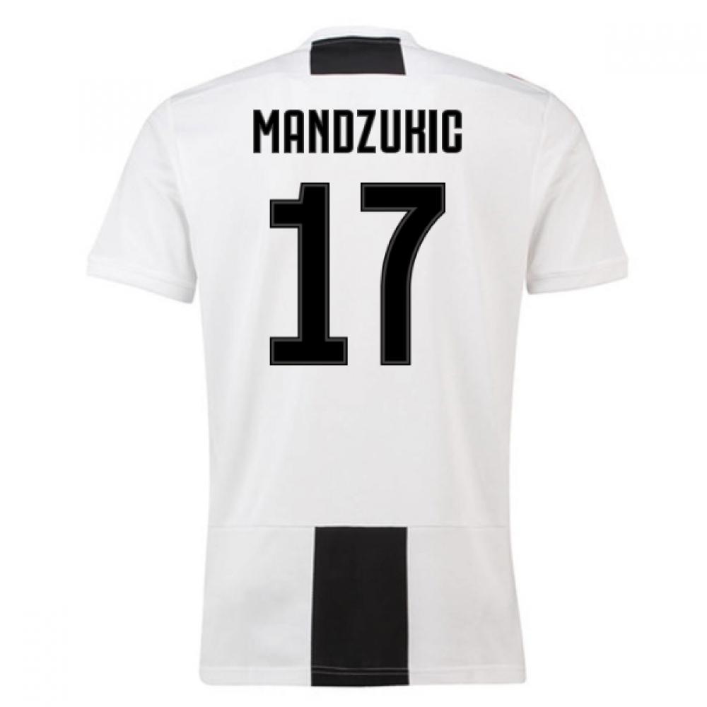 2018-19 Juventus Home Shirt (Mandzukic 17) – Kids