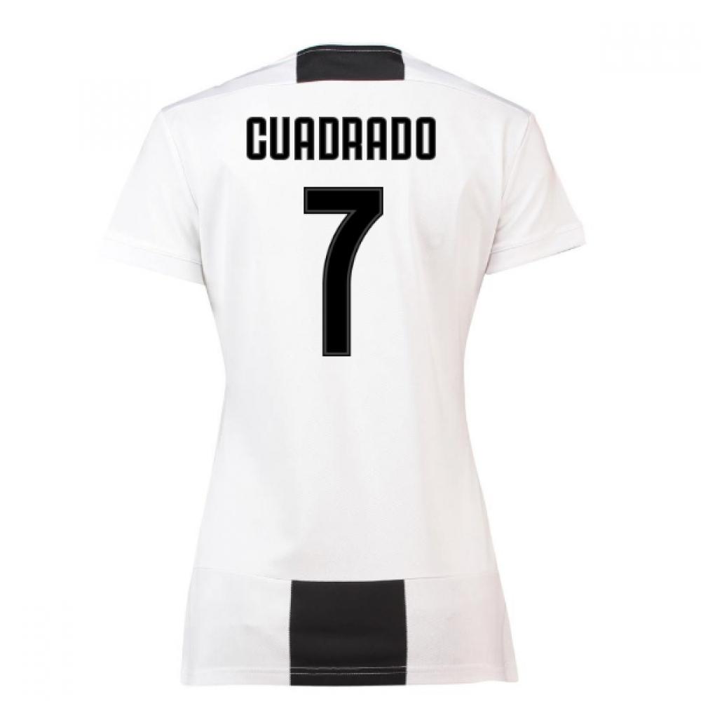 half off da7de ac8b6 2018-19 Juventus Womens Home Shirt (Cuadrado 7)