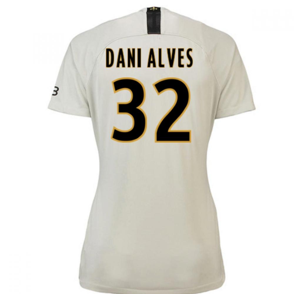 2018-19 Psg Away Womens Shirt (Dani Alves 32)