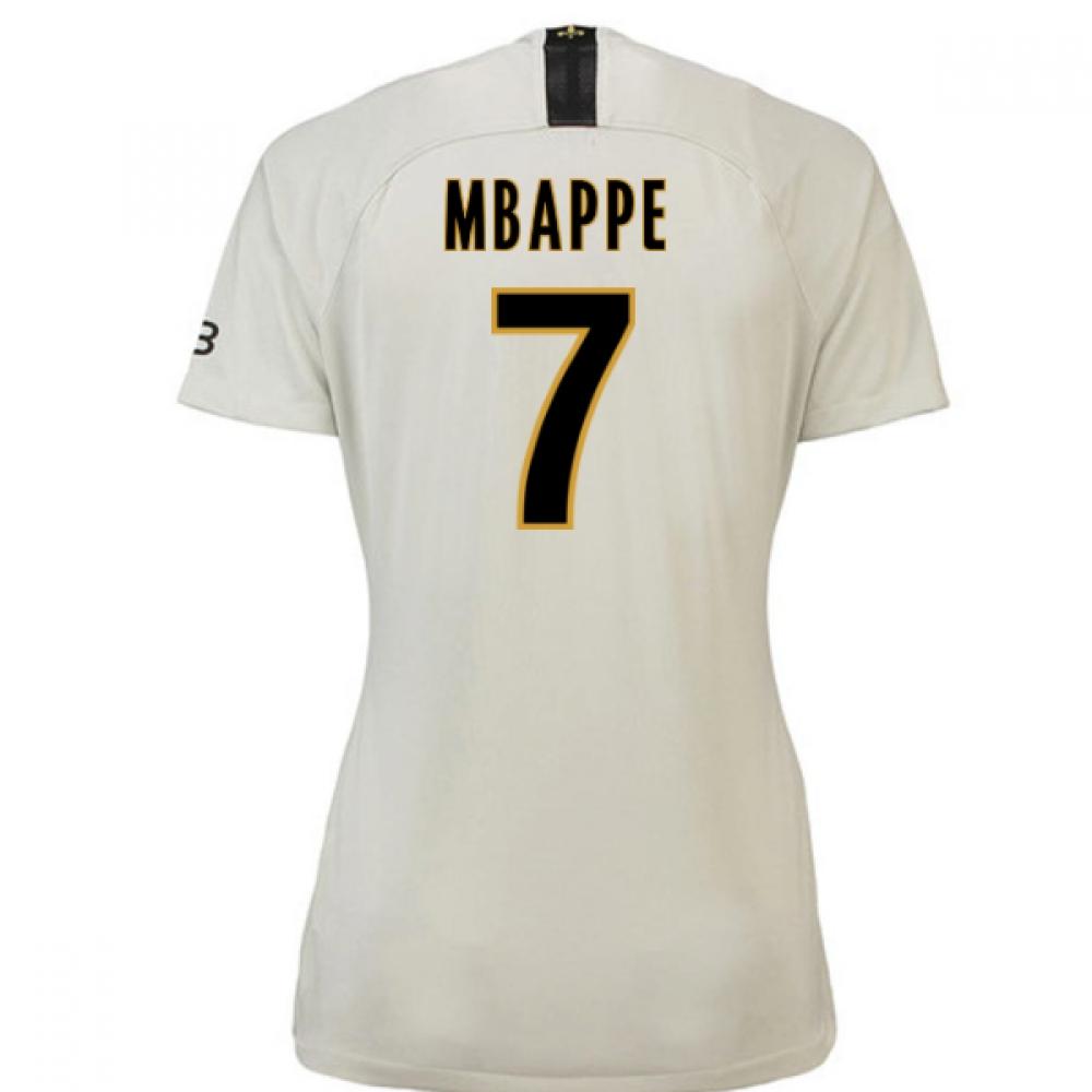 2018-19 Psg Away Womens Shirt (Mbappe 7)