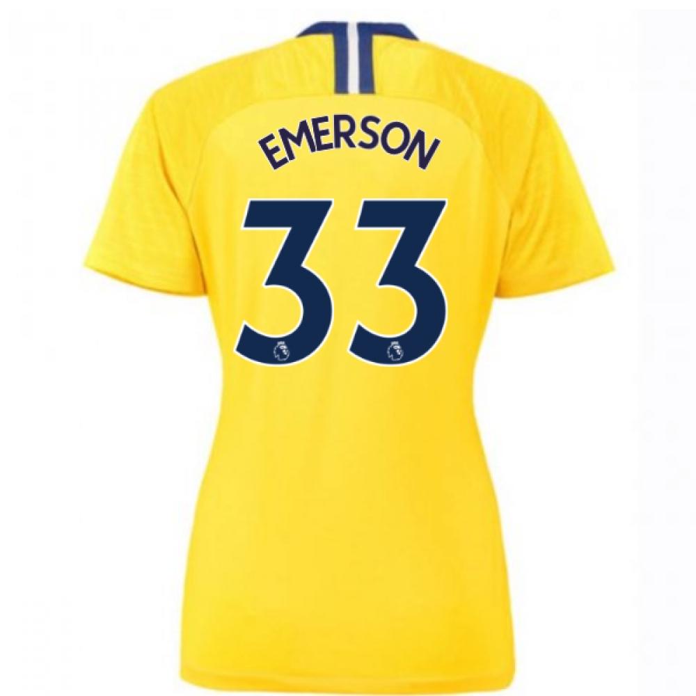 newest f1dd6 abc59 2018-2019 Chelsea Away Nike Ladies Shirt (Emerson 33)