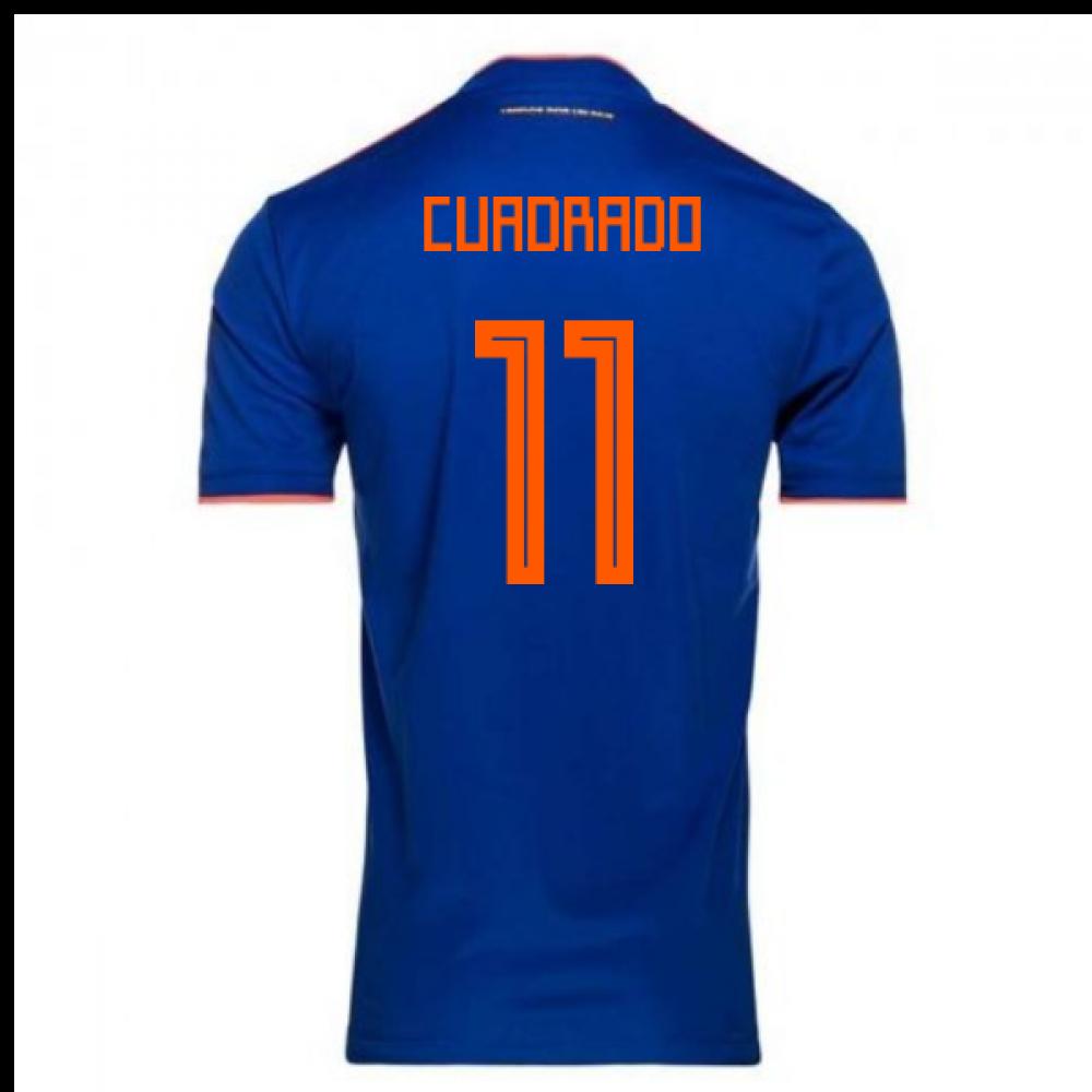 2018-2019 Colombia Away Adidas Football Shirt (Cuadrado 11)
