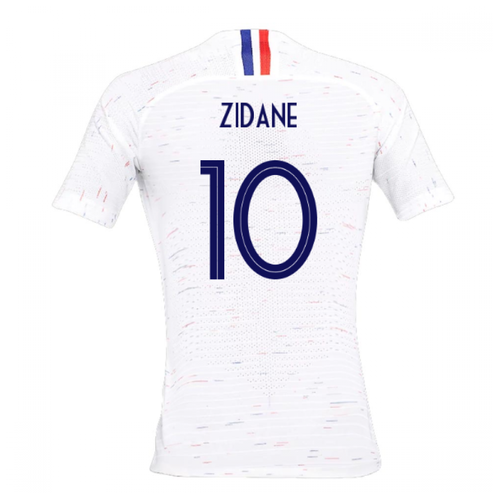 2018-2019 France Away Nike Womens Shirt (Zidane 10)