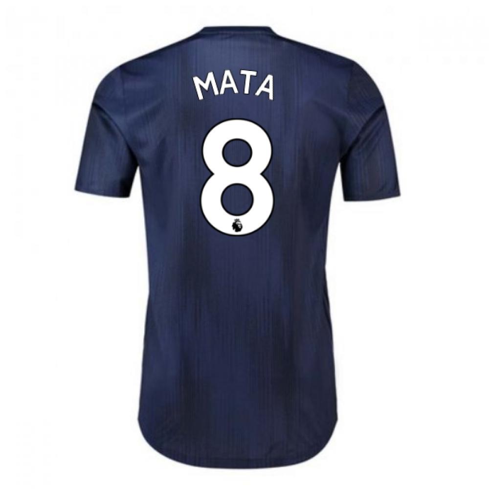 2018-2019 Man Utd Adidas Third Adi Zero Football Shirt (Mata 8)