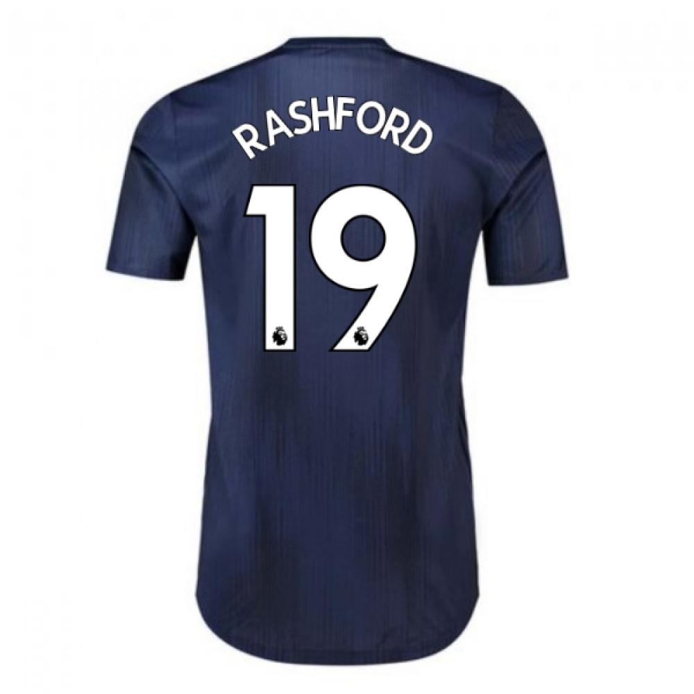 2018-2019 Man Utd Adidas Third Adi Zero Football Shirt (Rashford 19)