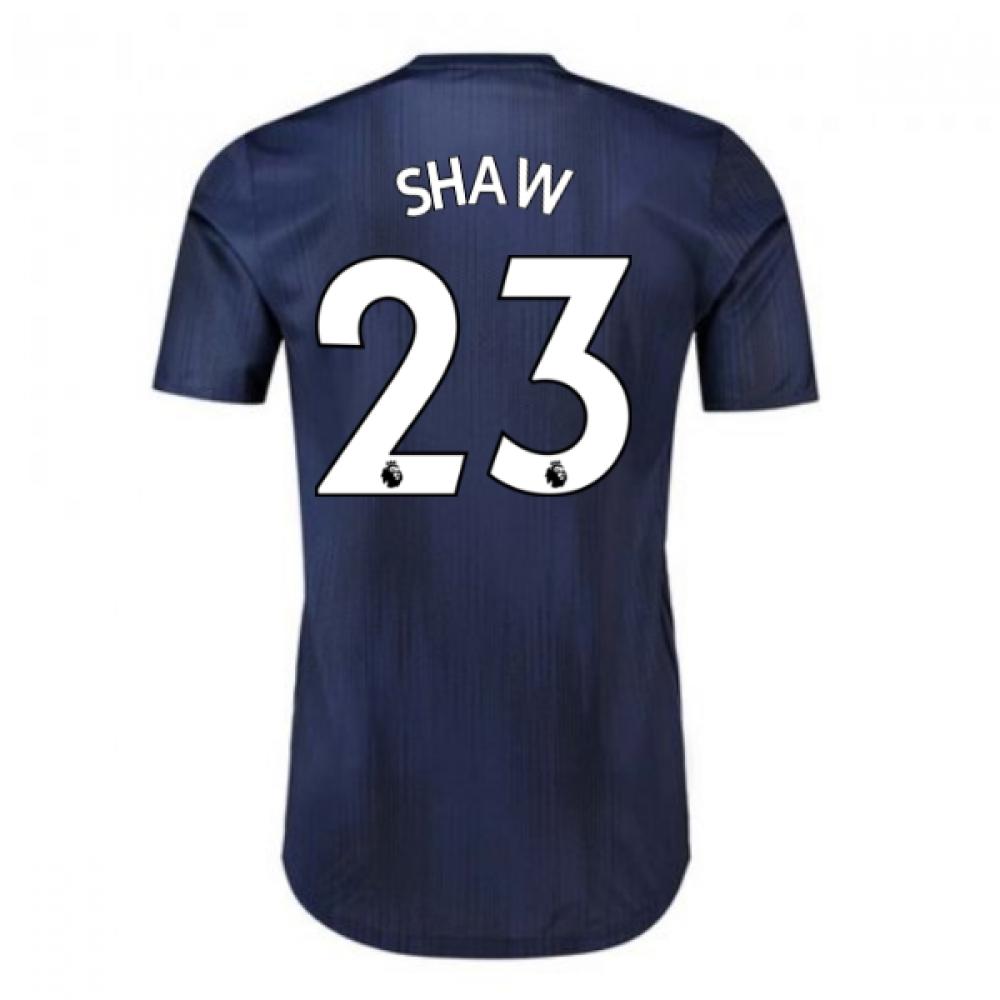 2018-2019 Man Utd Adidas Third Adi Zero Football Shirt (Shaw 23)