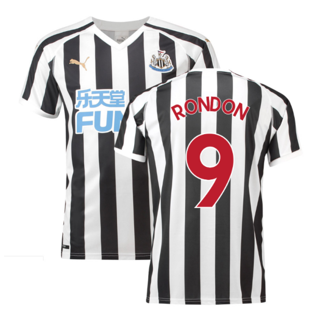 2018-2019 Newcastle Home Football Shirt (Rondon 9)