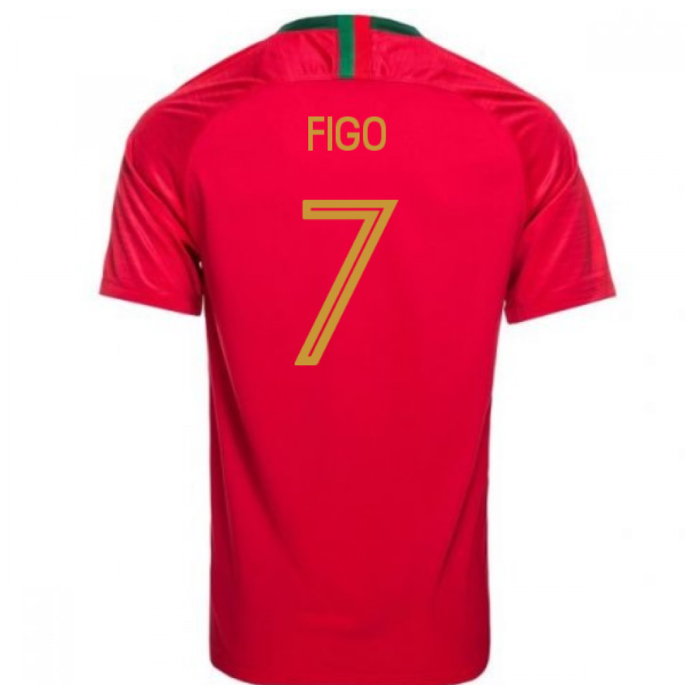 innovative design 8c637 68d62 2018-2019 Portugal Home Nike Womens Shirt (Figo 7)