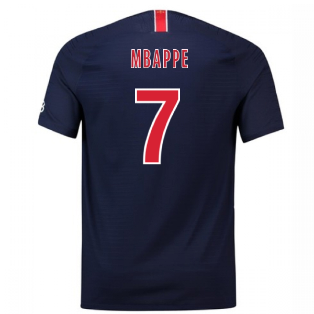 2018-2019 PSG Authentic Vapor Match Home Nike Shirt (Mbappe 7)