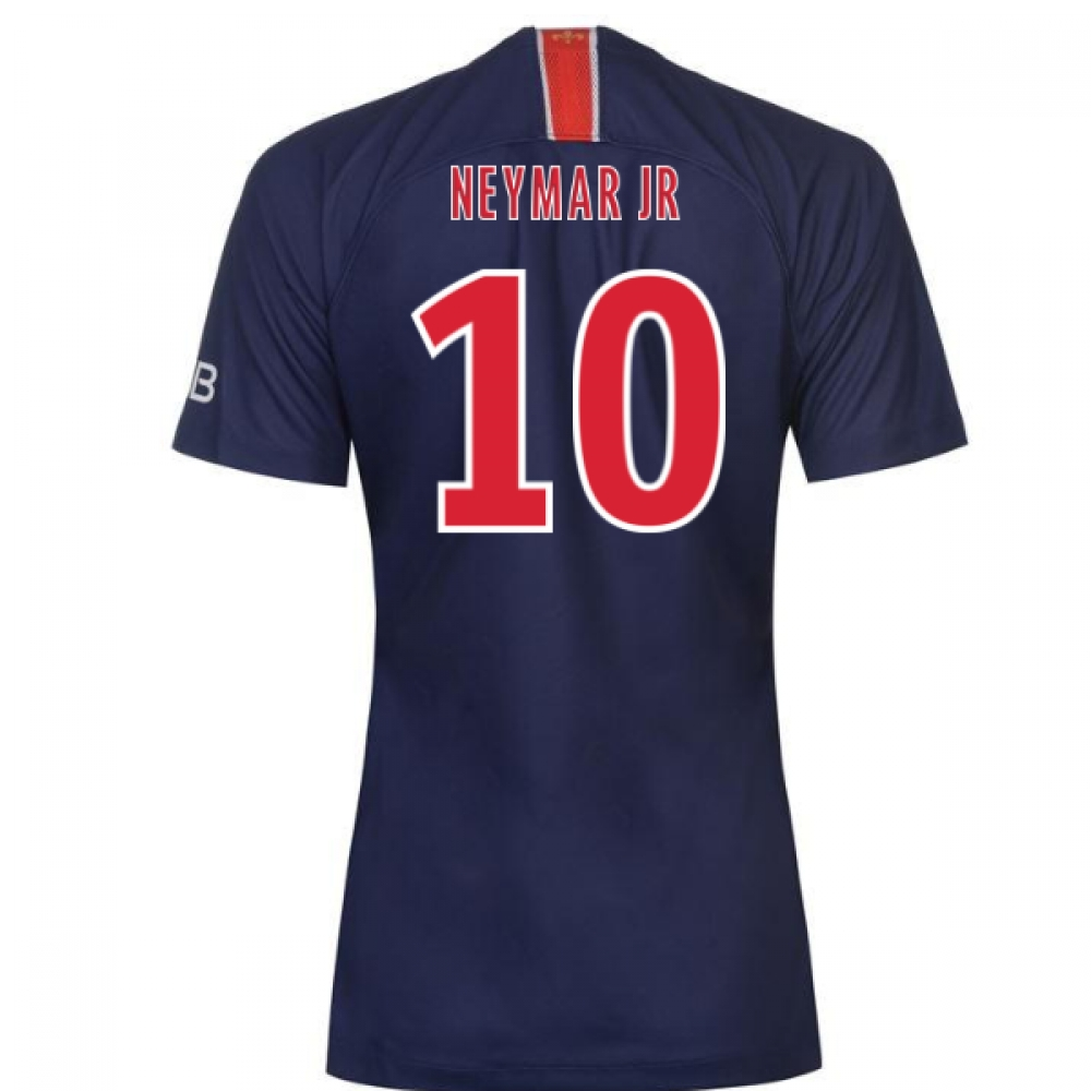 huge selection of fd672 8a4a3 2018-2019 PSG Home Nike Womens Football Shirt (Neymar Jr 10)