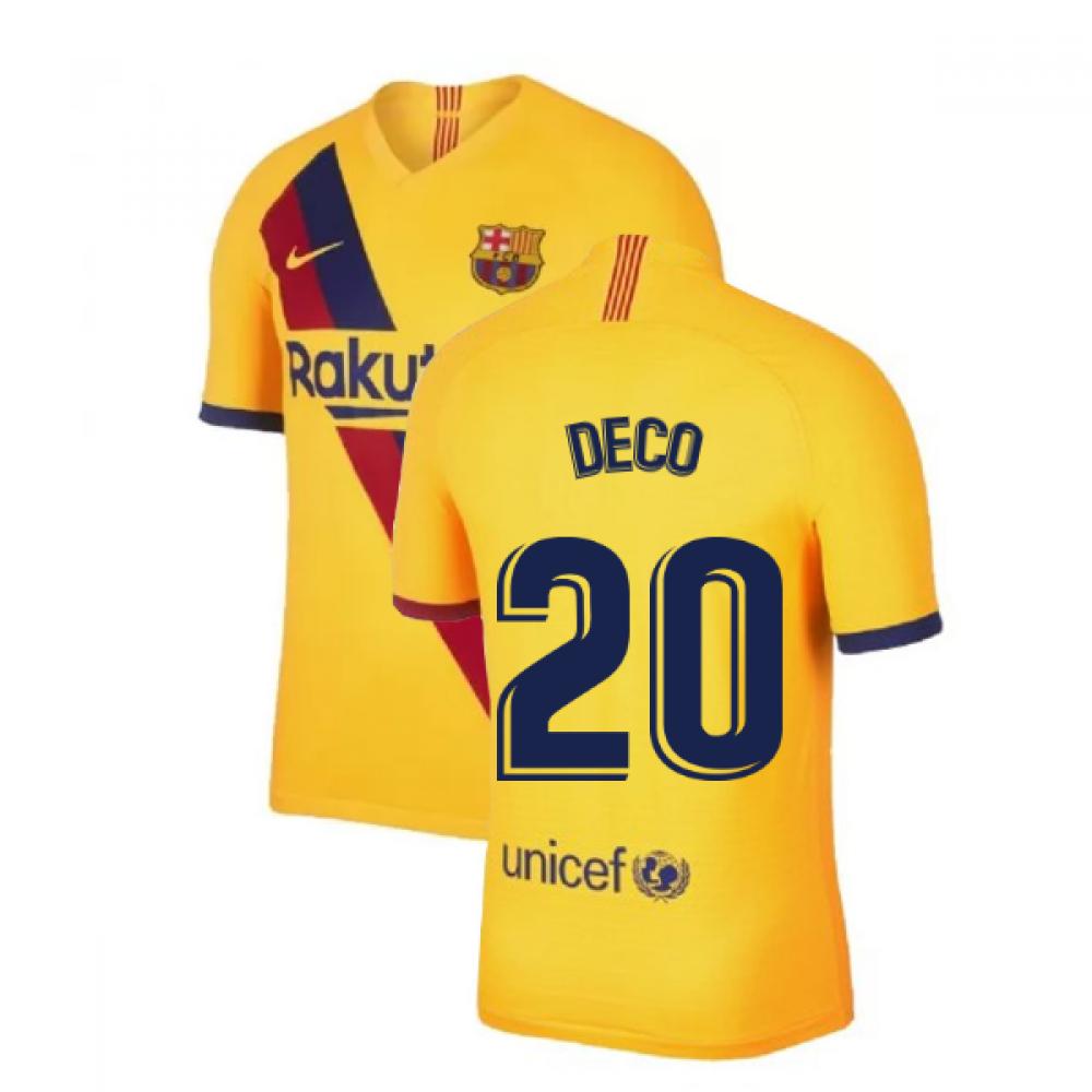 2019-2020 Barcelona Vapor Match Away Nike Shirt (DECO 20)