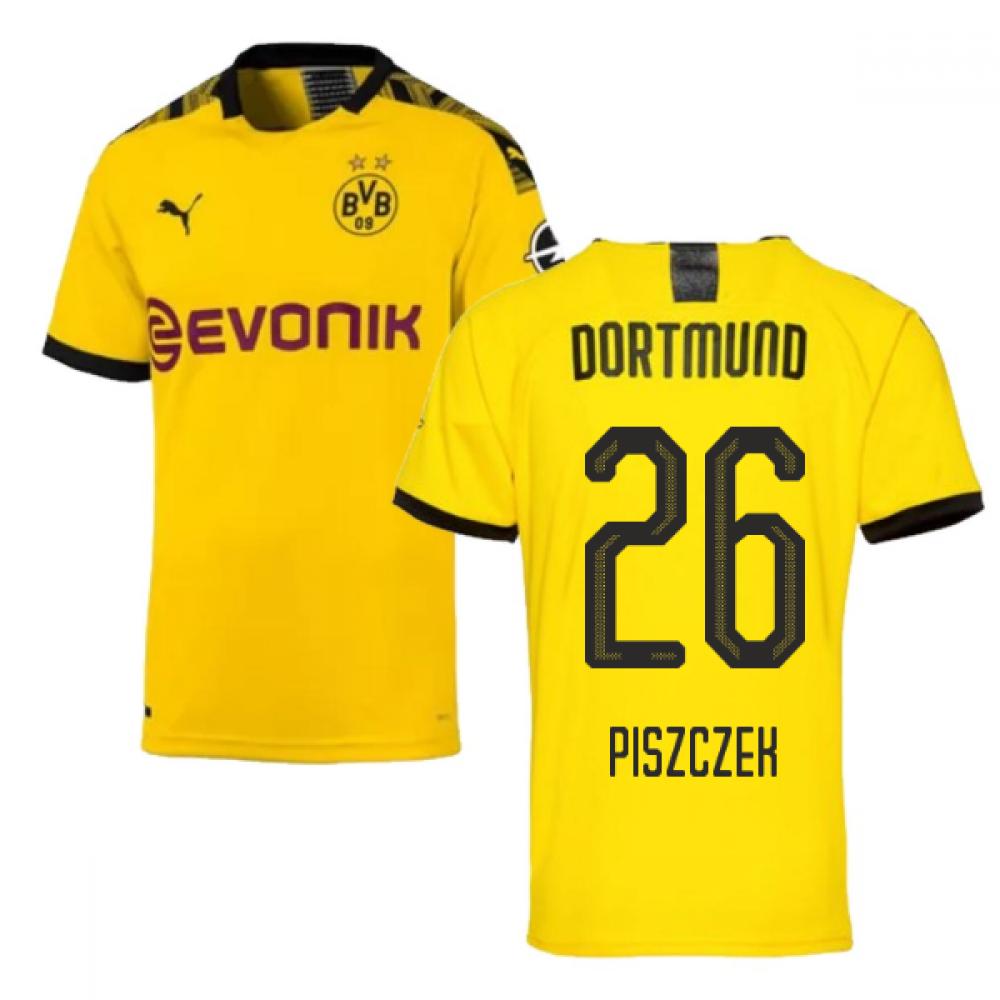 2019-2020 Borussia Dortmund Puma Authentic Home Football Shirt (PISZCZEK 26)