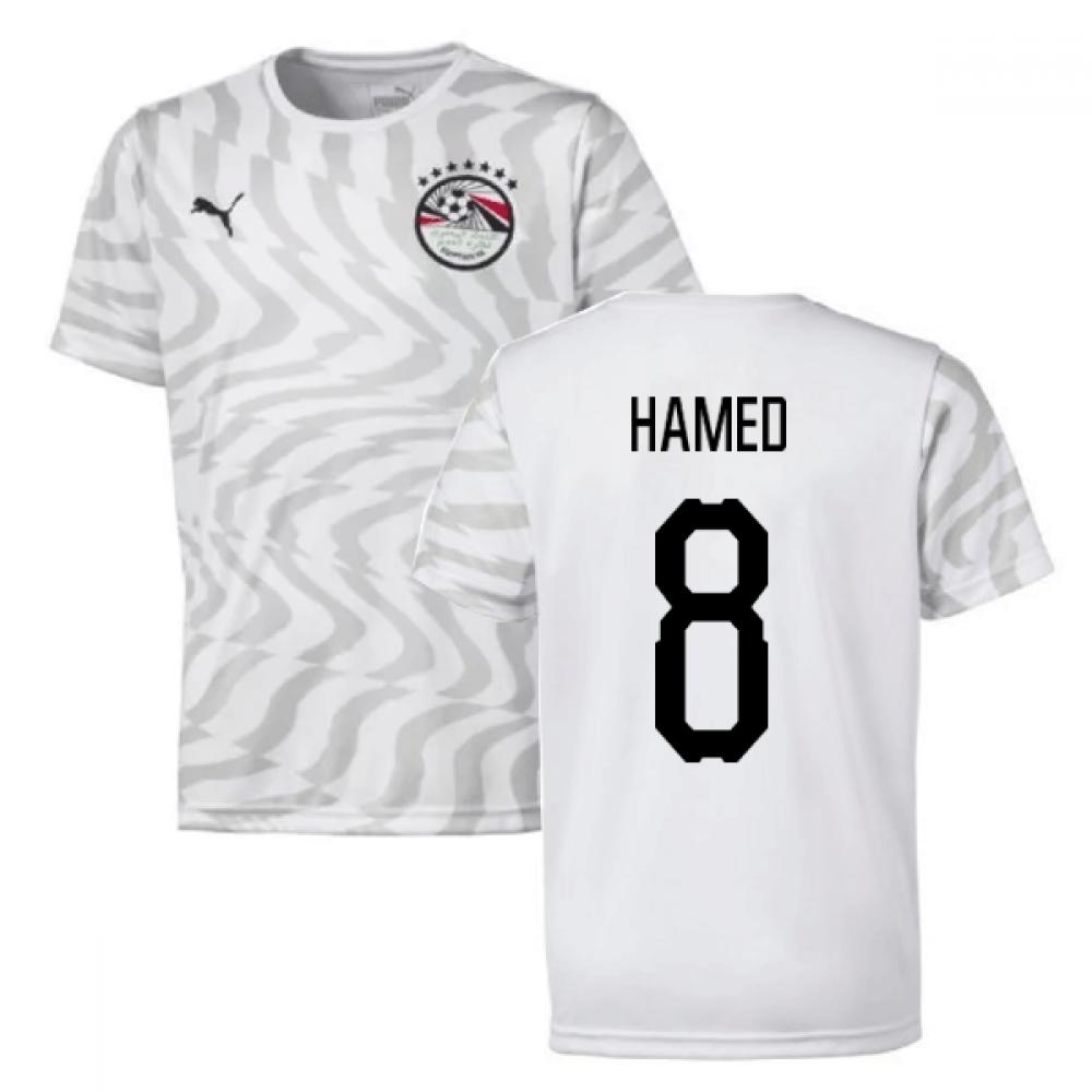 2019-2020 Egypt Away Puma Football Shirt (Hamed 8)