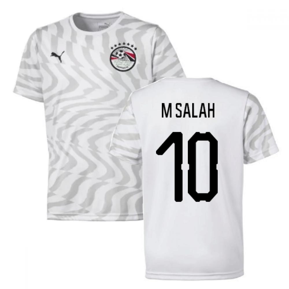 2019-2020 Egypt Away Puma Football Shirt (M Salah 10)
