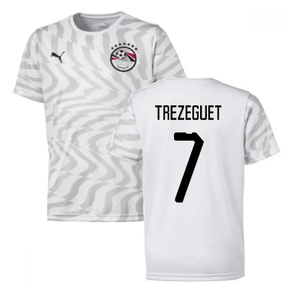 2019-2020 Egypt Away Puma Football Shirt (Trezeguet 7)