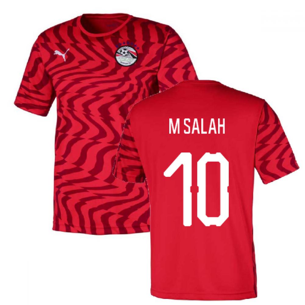 2019-2020 Egypt Home Puma Football Shirt (M Salah 10)