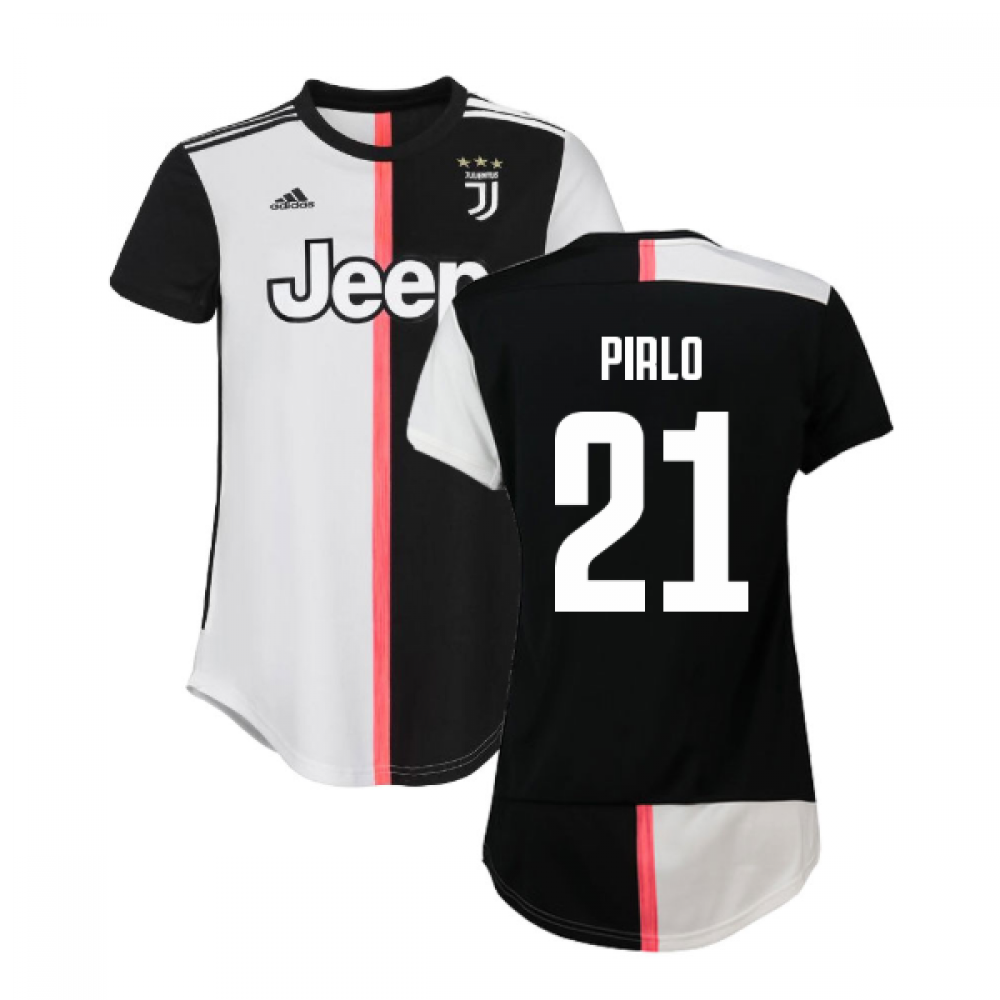 2019-2020 juventus adidas home womens shirt (pirlo 21)