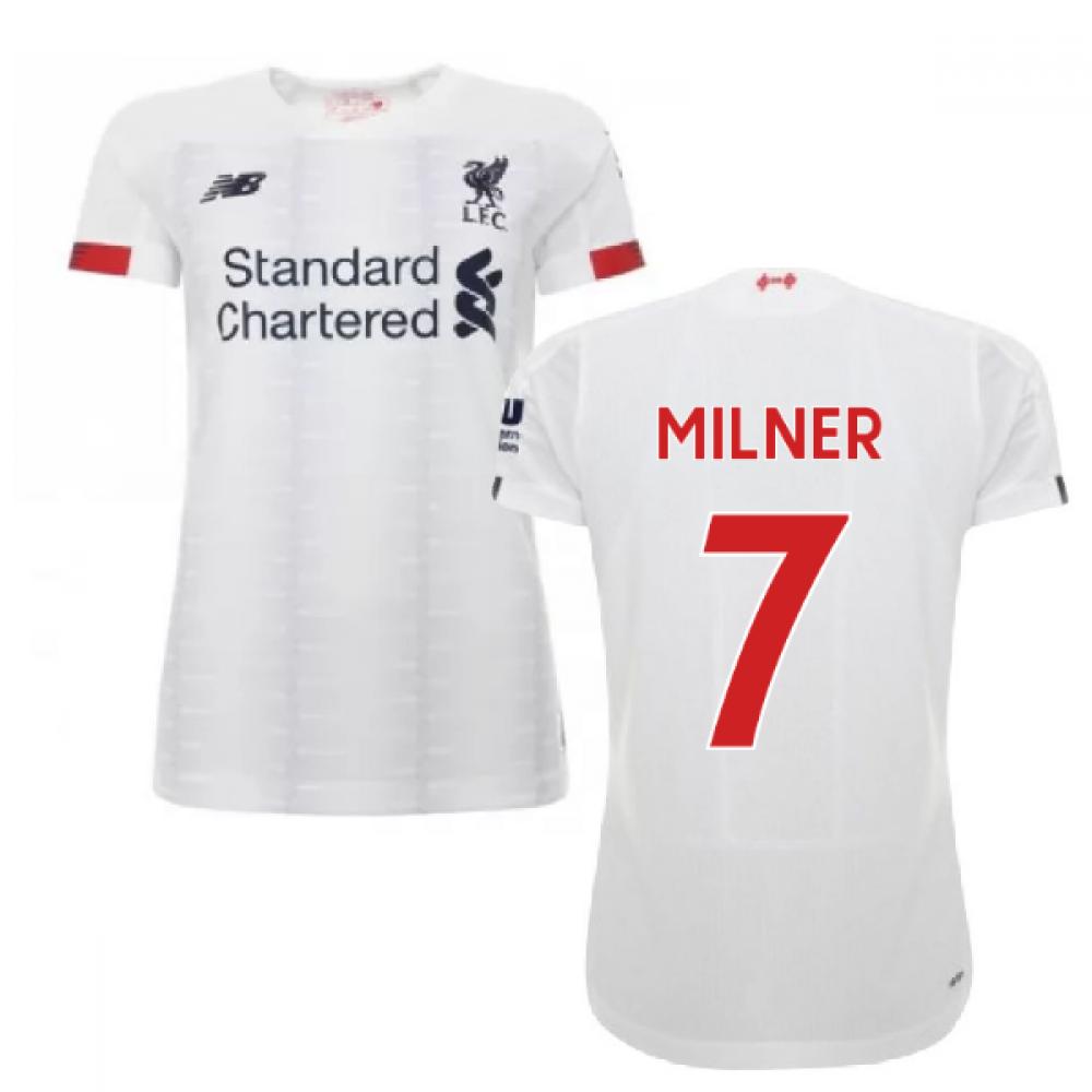 2019-2020 liverpool away ladies football shirt (milner 7)