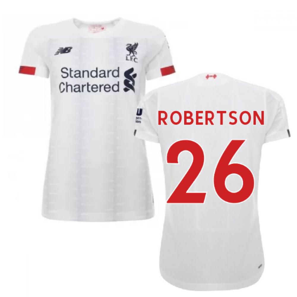 2019-2020 liverpool away ladies football shirt (robertson 26)