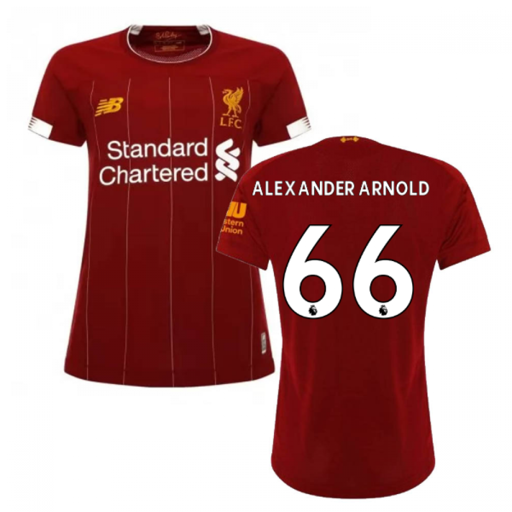 Click to view product details and reviews for 2019 2020 Liverpool Home Ladies Football Shirt Alexander Arnold 66.