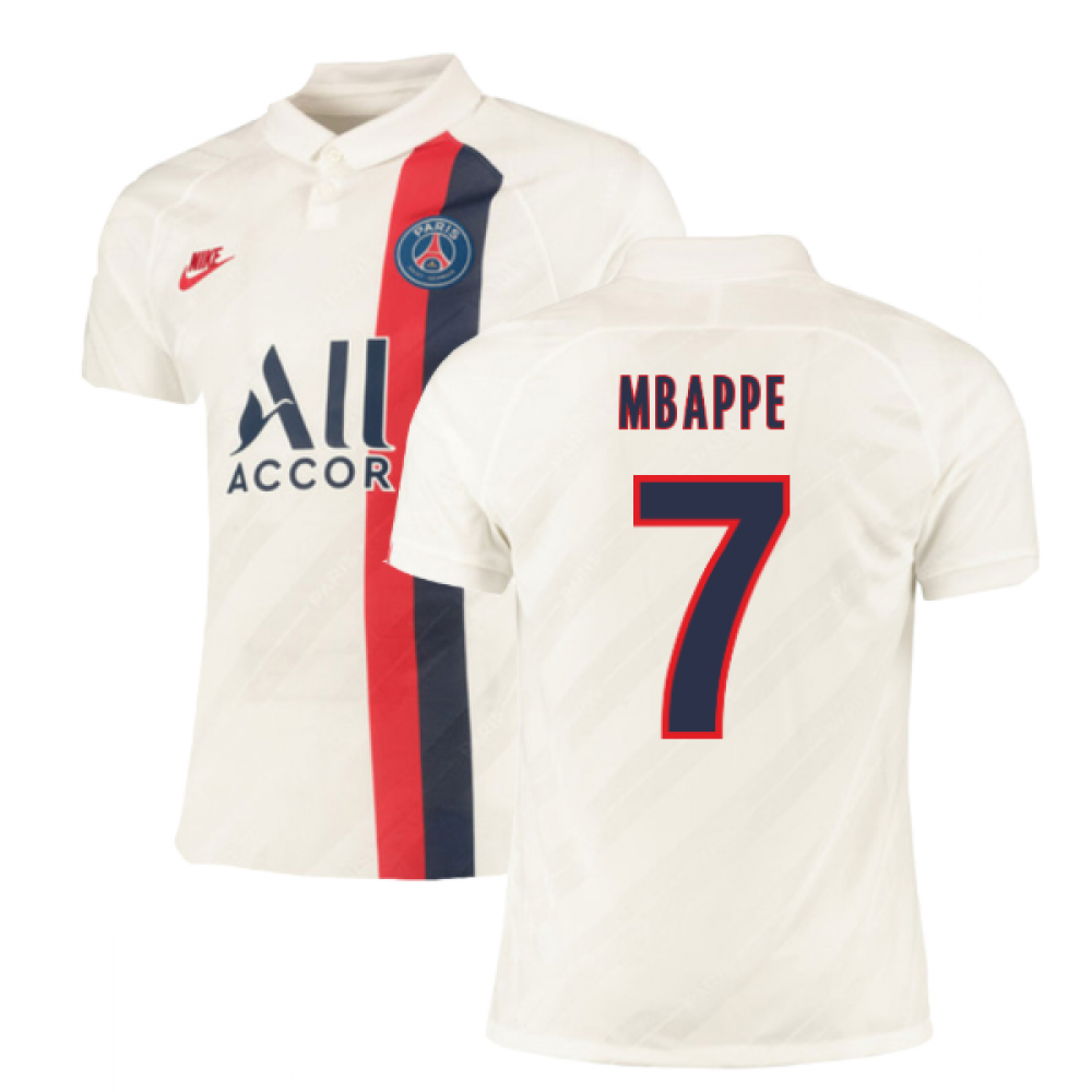 2019-2020 PSG Authentic Vapor Match Third Nike Shirt (MBAPPE 7)