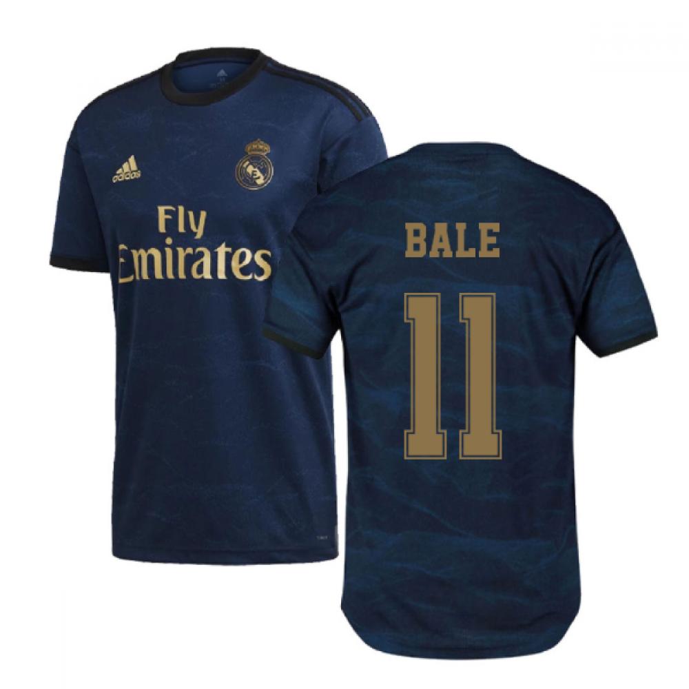 2019-2020 Real Madrid Adidas Away Football Shirt (BALE 11)