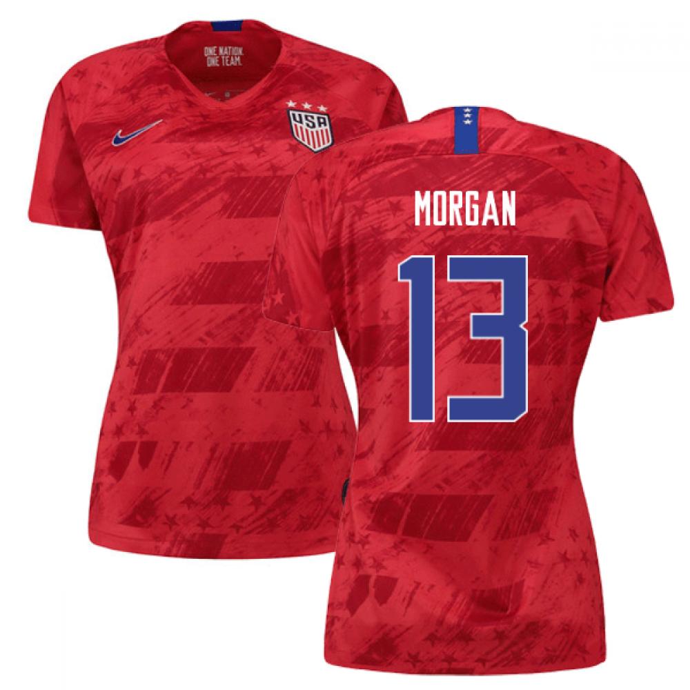 2019-2020 USA Away Nike Womens Shirt (Morgan 13)