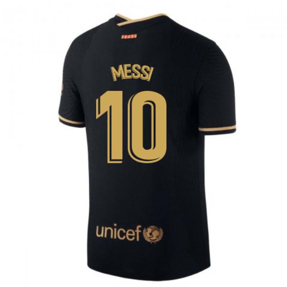 2020-2021 Barcelona Vapor Match Away Nike Shirt (MESSI 10)