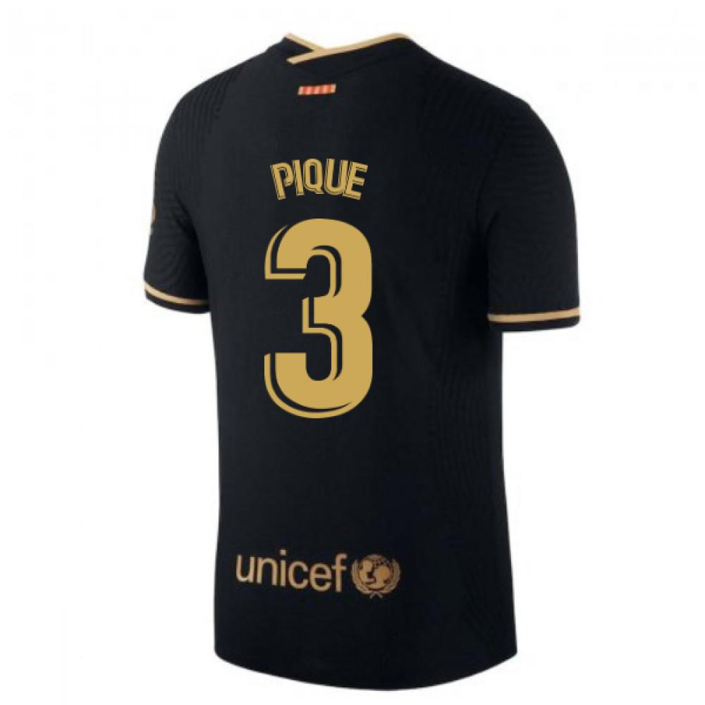 2020-2021 Barcelona Vapor Match Away Nike Shirt (PIQUE 3)