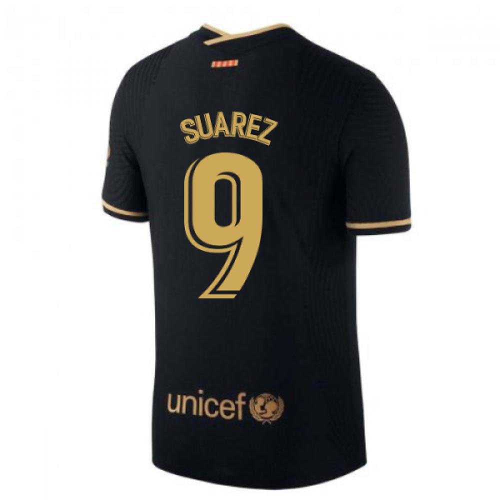 2020-2021 Barcelona Vapor Match Away Nike Shirt (SUAREZ 9)