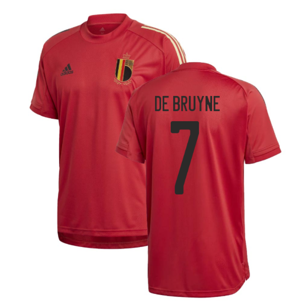 Kevin de Bruyne kits for Manchester City and Belgium ...