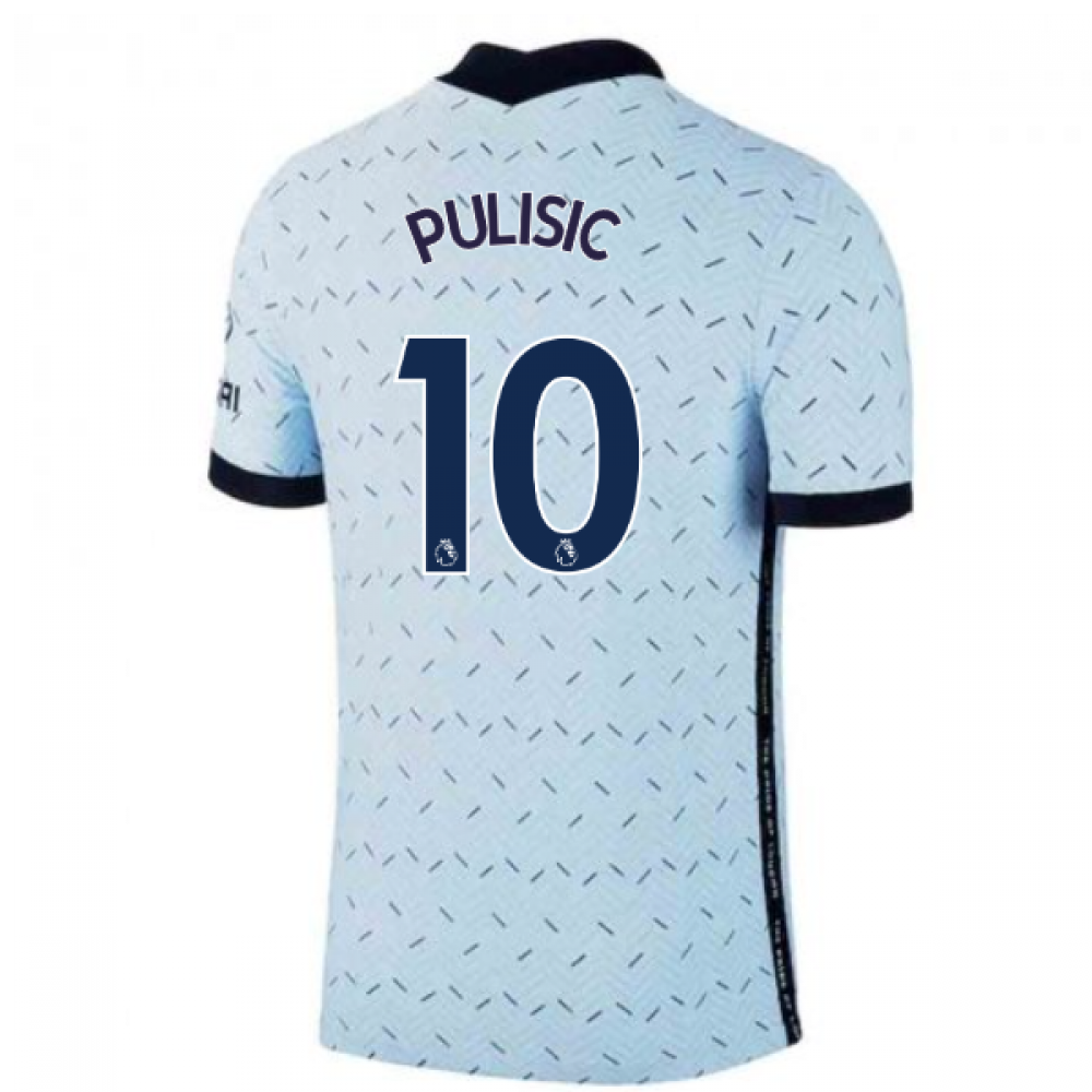 2020-2021 Chelsea Nike Vapor Away Match Shirt (PULISIC 10)