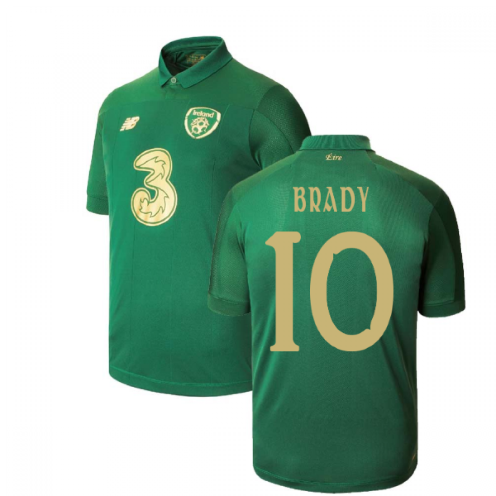 2020-2021 Ireland New Balance Home Shirt (BRADY 10)