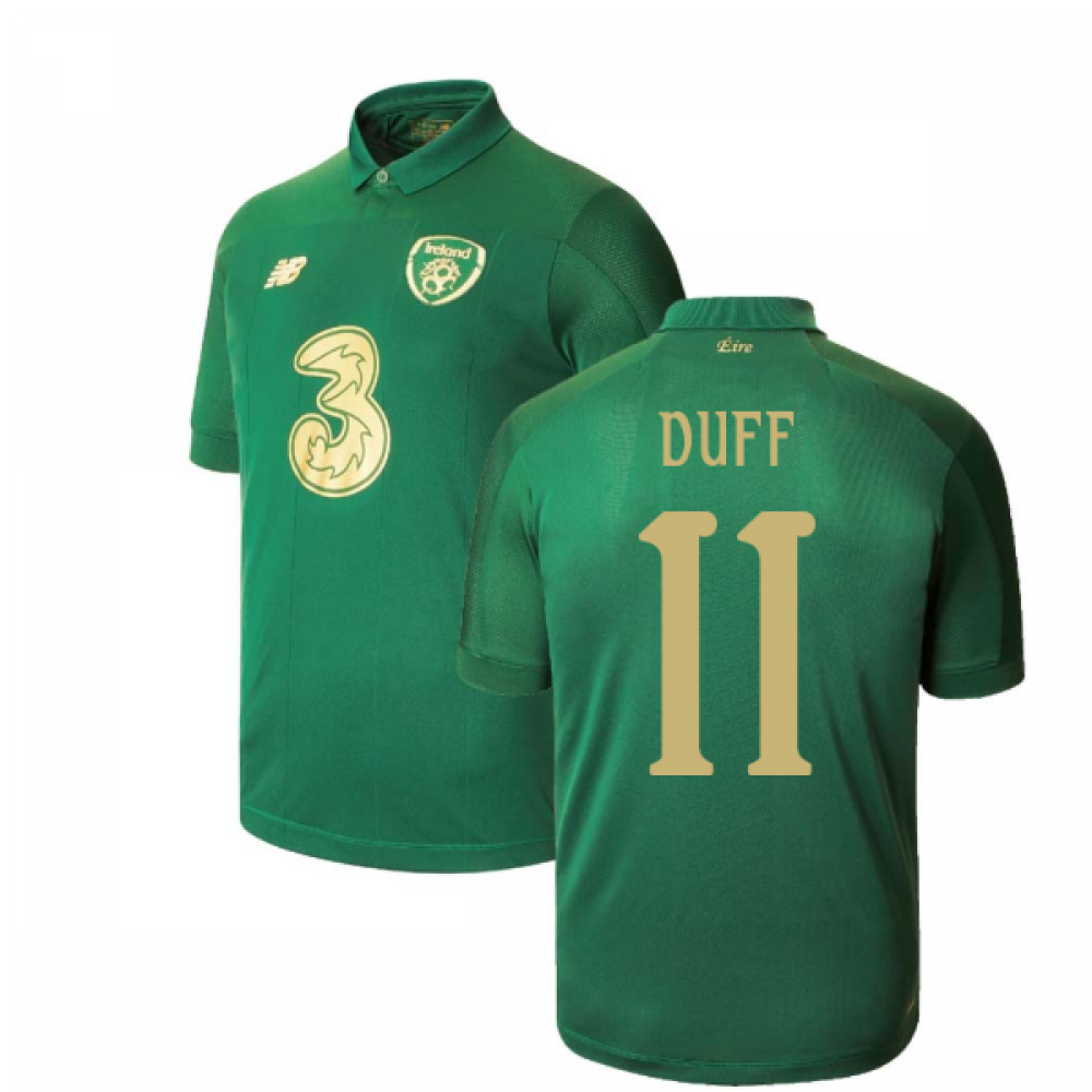 2020-2021 Ireland New Balance Home Shirt (DUFF 11)
