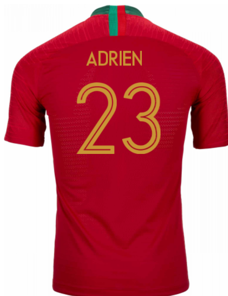 2018-2019 Portugal Home Nike Vapor Match Shirt (Adrien 23)