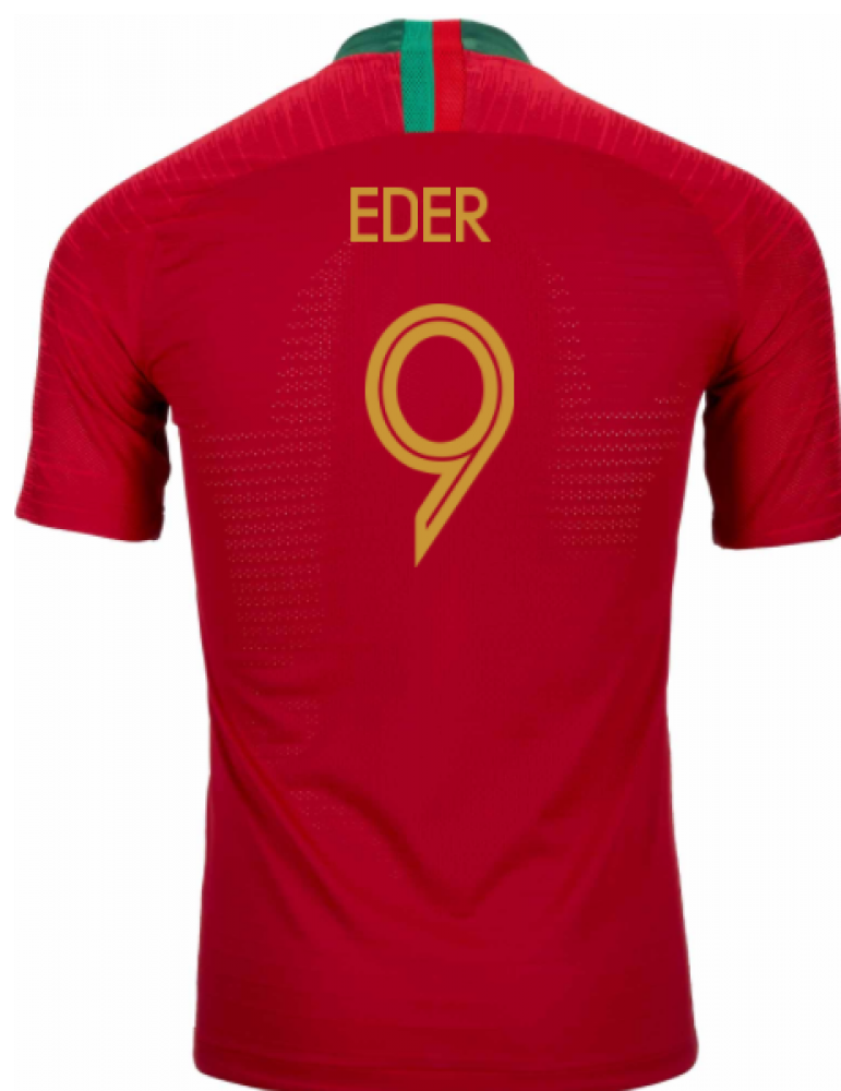 2018-2019 Portugal Home Nike Vapor Match Shirt (Eder 9)