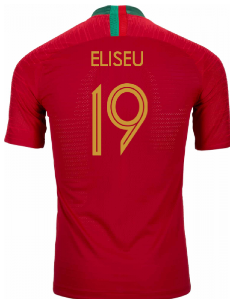2018-2019 Portugal Home Nike Vapor Match Shirt (Eliseu 19)