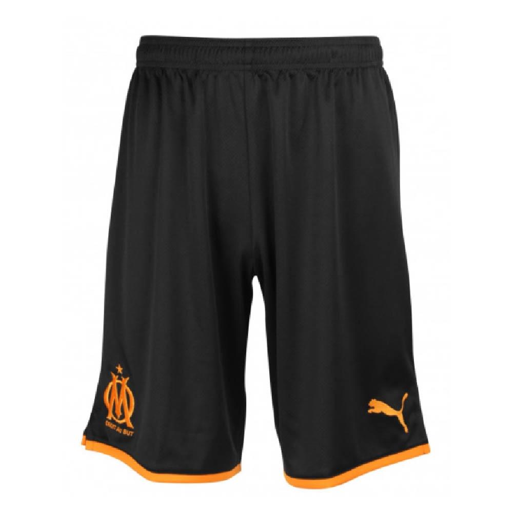 2019-2020 Marseille Third Shorts (Black)