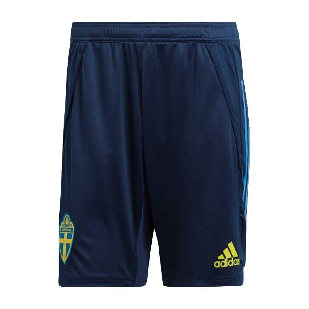 2020-2021 Sweden Training Shorts (Night Indigo)
