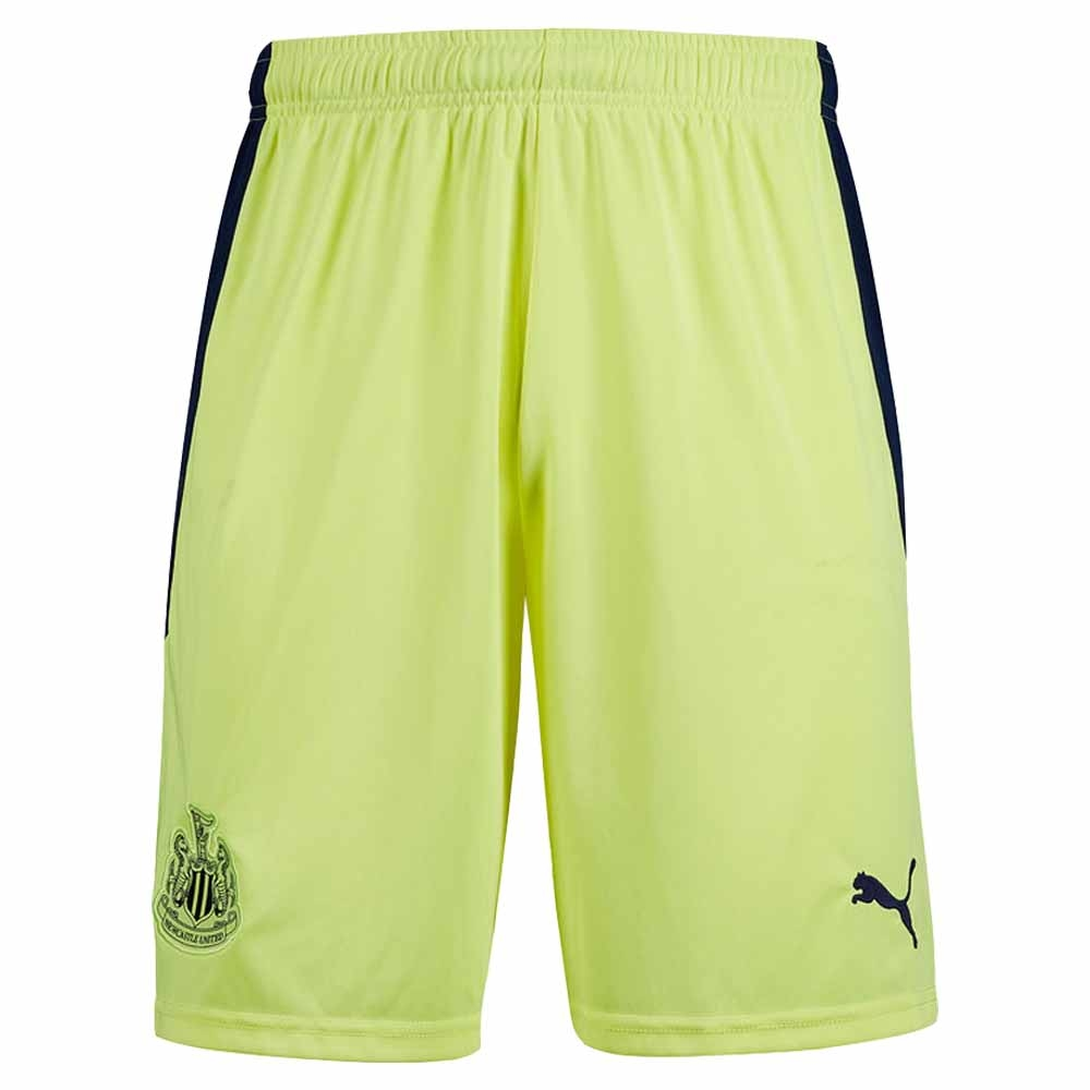 2020-2021 Newcastle Away Shorts (Yellow)