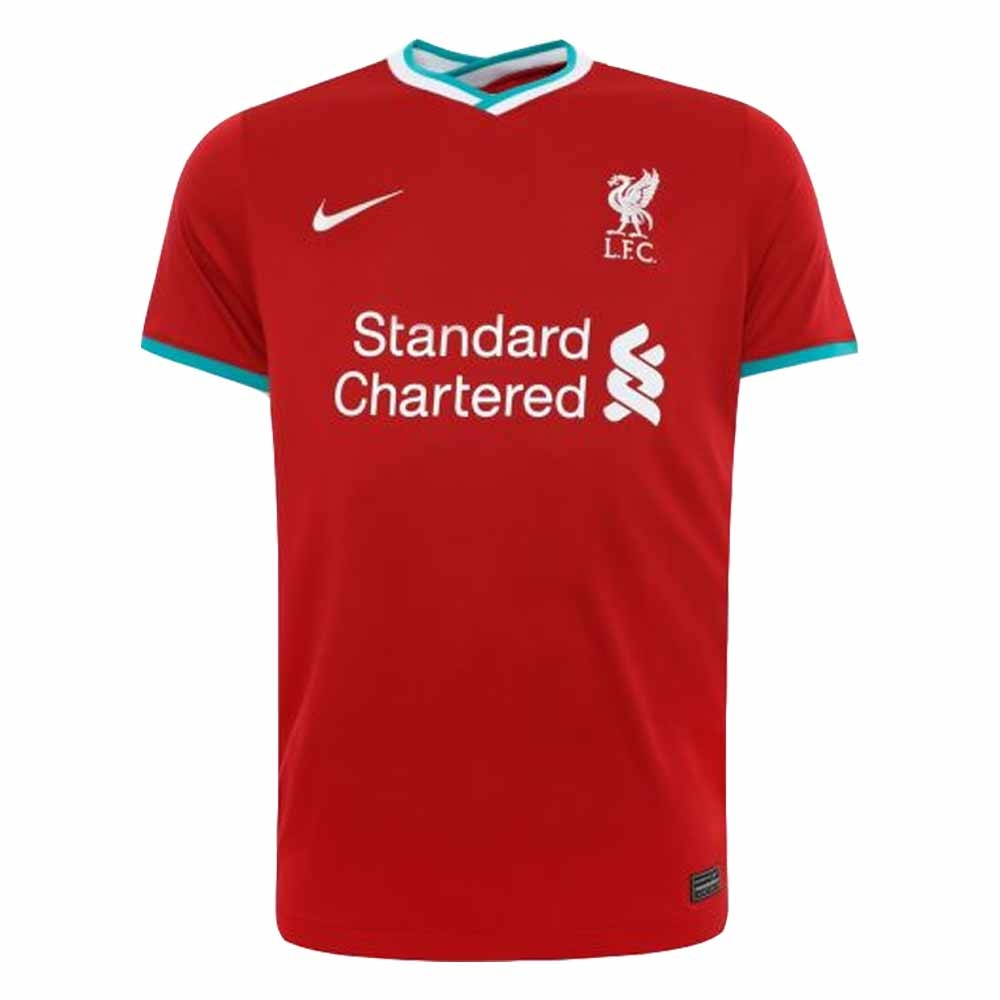 2020-2021 Liverpool Home Shirt Nike