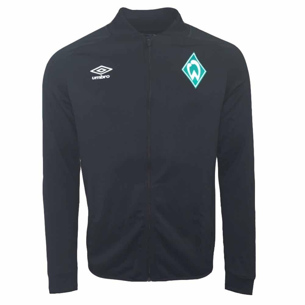 2020-2021 Werder Bremen Umbro Presentation Jacket (Black)