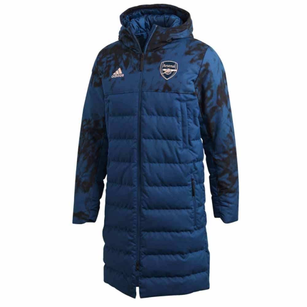2020-2021 Arsenal SSP LDW Coat (Legend Marine)