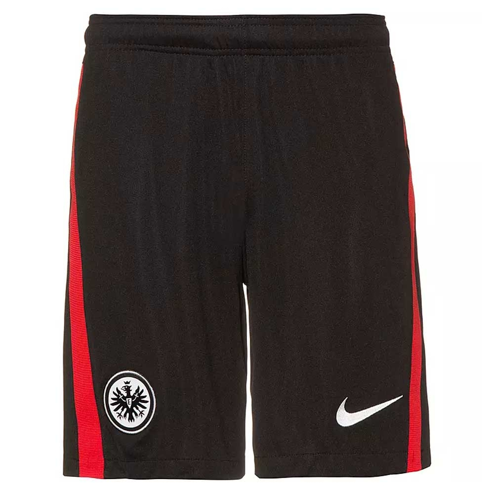 2020-2021 Eintracht Frankfurt Home Shorts (Black)
