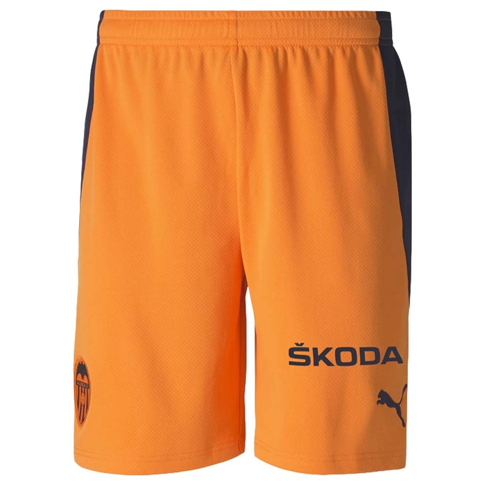 2020-2021 Valencia Away Shorts (Orange)