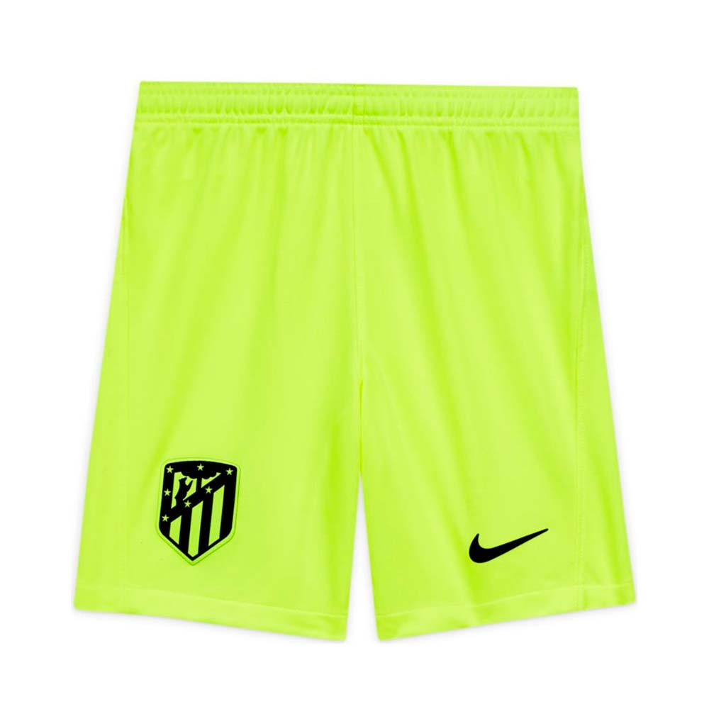 2020-2021 Atletico Madrid Third Shorts (Volt) - Kids
