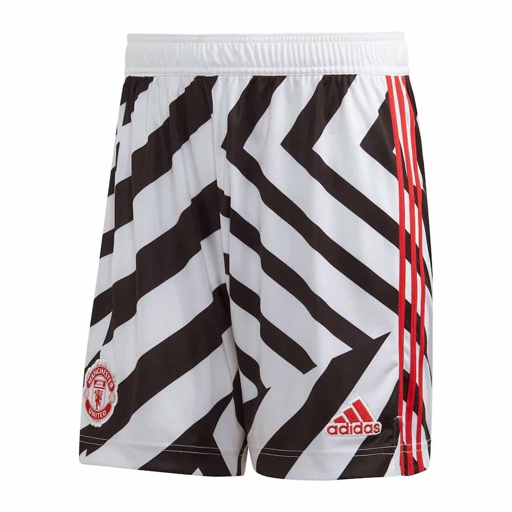2020-2021 Man Utd Third Shorts (White)
