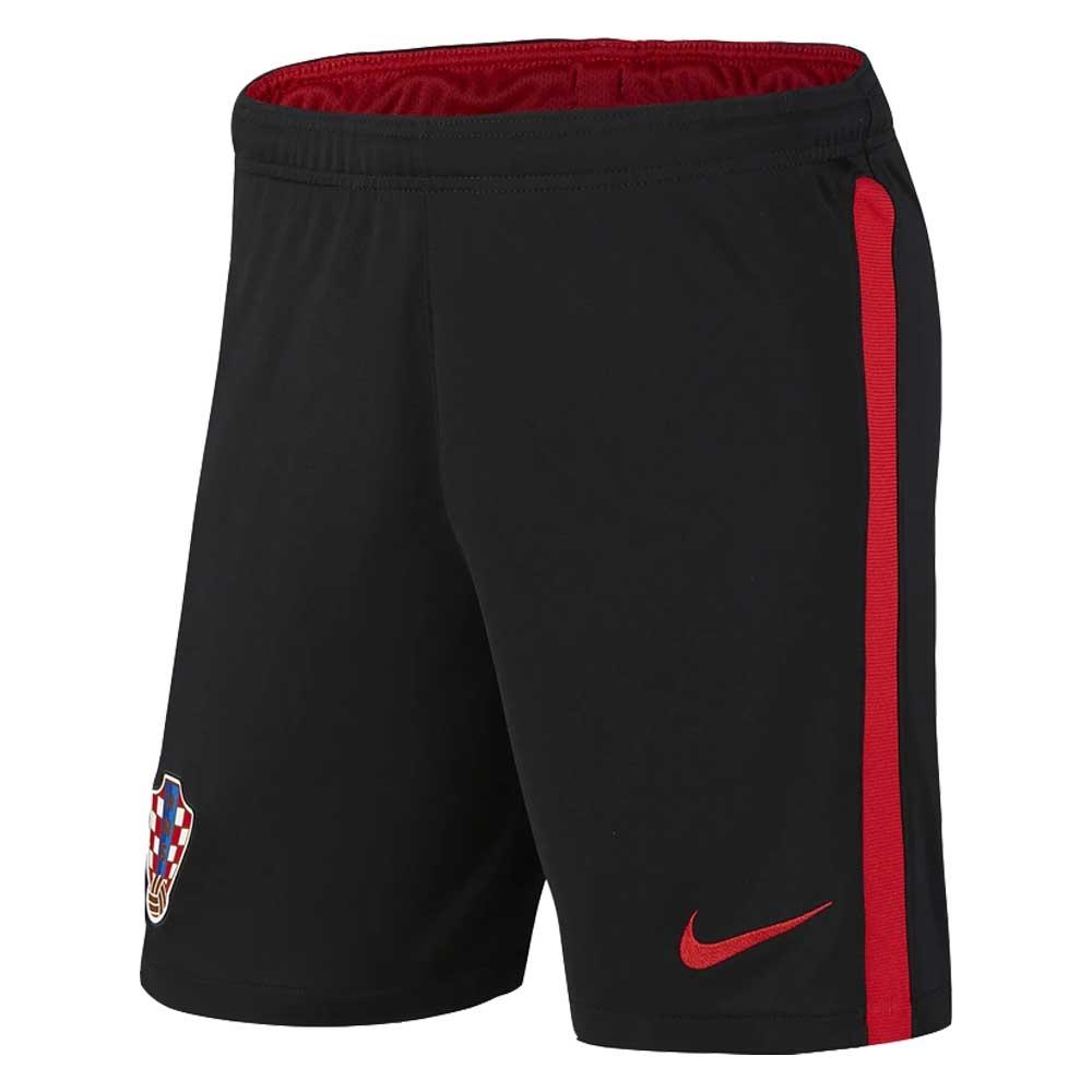 2020-2021 Croatia Away Shorts (Black)